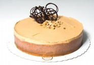 Cheesecake Chocolate com Amendoim